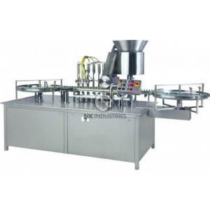 Injectable Vial Filling & Rubber Stoppering Machine