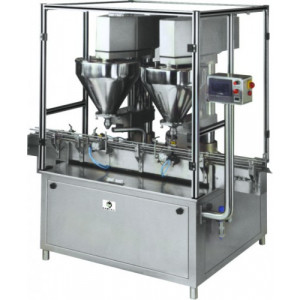Weight By Fill Auger Powder Filling Machine