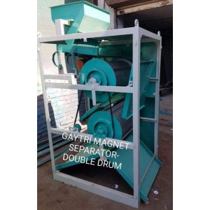Double Drum Magnetic Separator Manufacturers In Nagpur